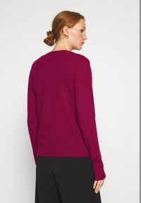Benetton - Cardigan - burgandy - 2