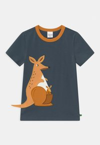 Fred's World by GREEN COTTON - HELLO KANGAROO UNISEX - T-shirt con stampa - midnight - 0