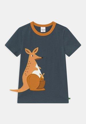 HELLO KANGAROO UNISEX - T-shirt con stampa - midnight