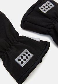 LEGO Wear - ATLIN GLOVE - Rukavice - black - 2