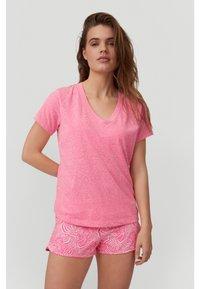 O'Neill - Basic T-shirt - rosa shocking - 0