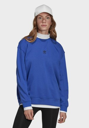 Sweatshirt - bold blue