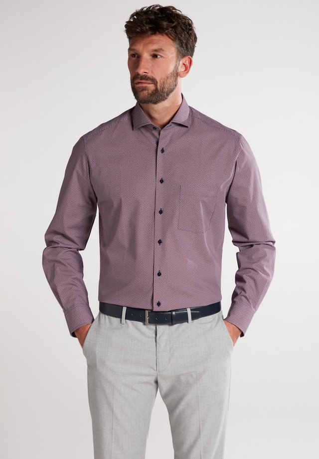FITTED WAIST - Formal shirt - rot