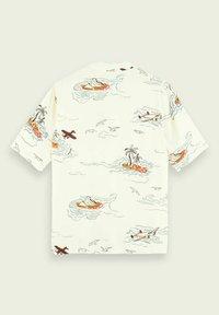 Scotch & Soda - HAWAIIAN  - Shirt - white - 5