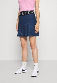 Peak Performance - TURF SKIRT PRINT - Sportovní sukně - blue - 0