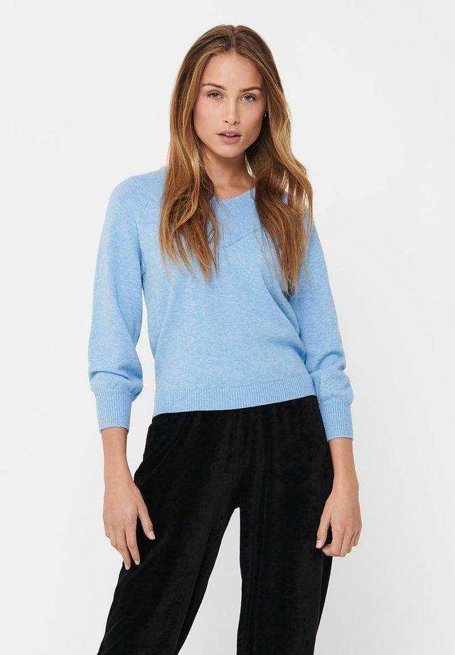 Sweter - lichen blue