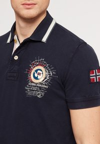 Napapijri - GANDY - Polo shirt - dark blue - 3