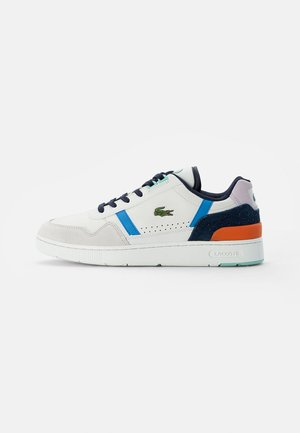 T-CLIP - Trainers - off white/blue