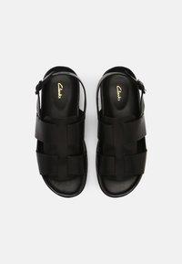 Clarks - SUNDER STRAP - Sandals - black - 3