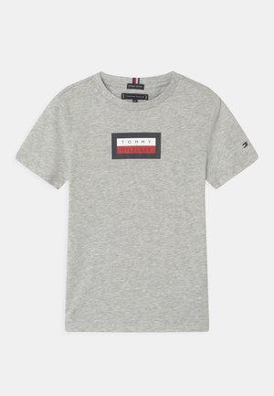 GRAPHIC - Print T-shirt - light grey heather
