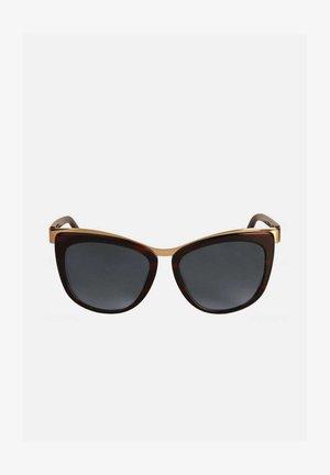 Sunglasses - brązowy