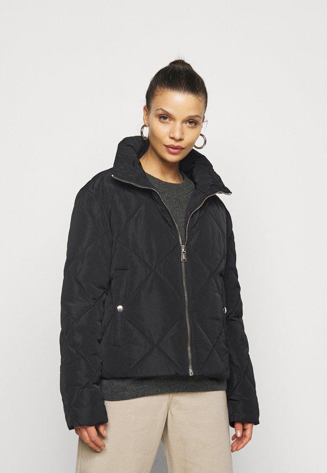 QUIN QUILT  - Light jacket - black