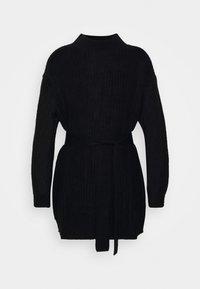 Missguided Petite - BASIC DRESS WITH BELT - Robe fourreau - black - 5