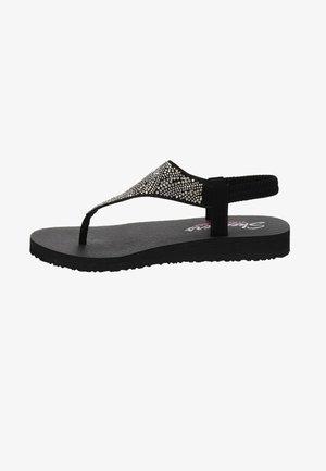 MEDITATION - T-bar sandals - zwart