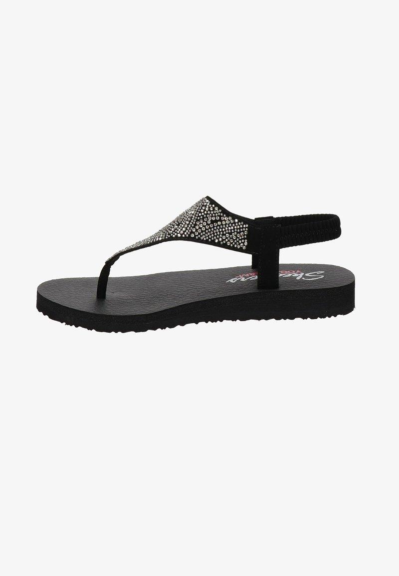 Skechers - MEDITATION - T-bar sandals - zwart