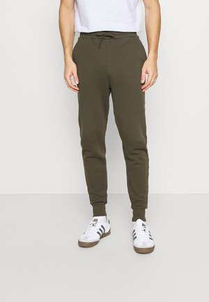 Tracksuit bottoms - trek green