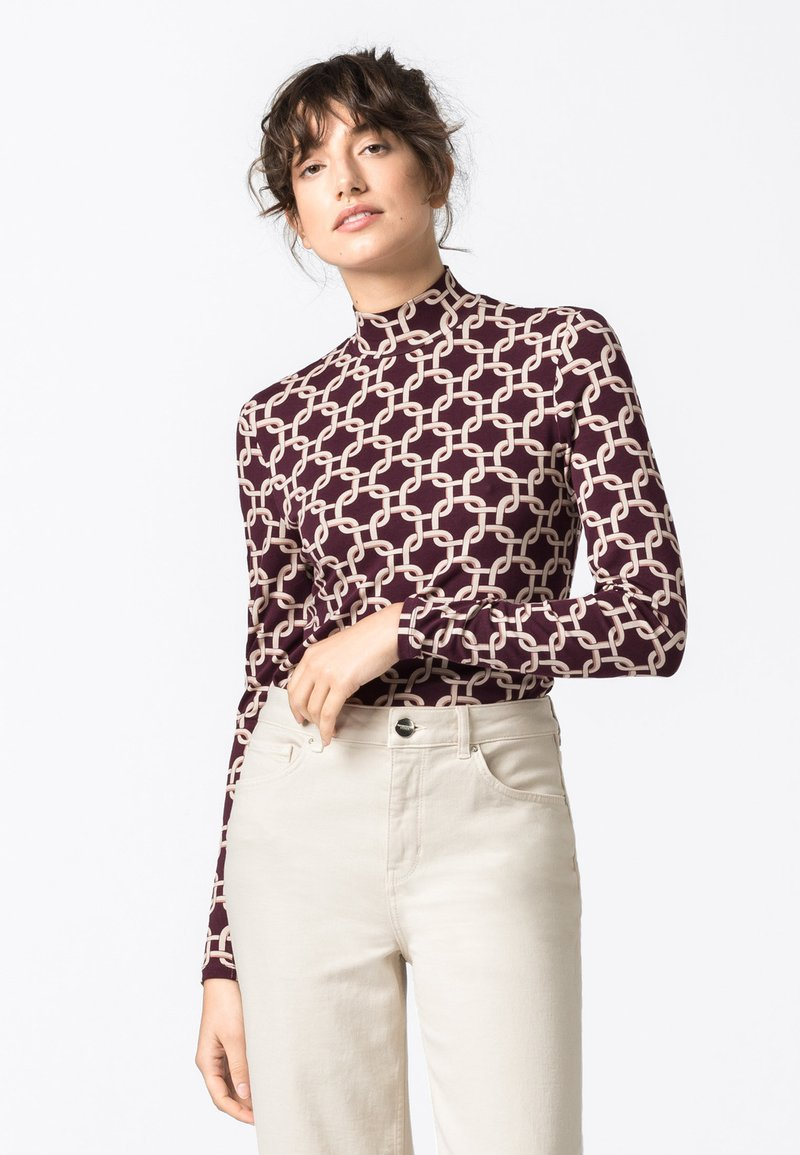 HALLHUBER - Long sleeved top - multicolor