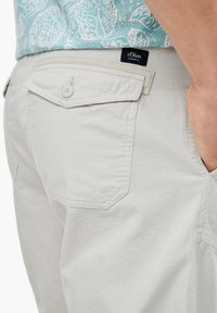 s.Oliver - Shorts - light grey - 3