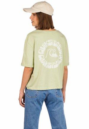 Print T-shirt - pistachio