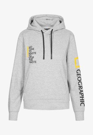 Sweatshirt - light grey melange