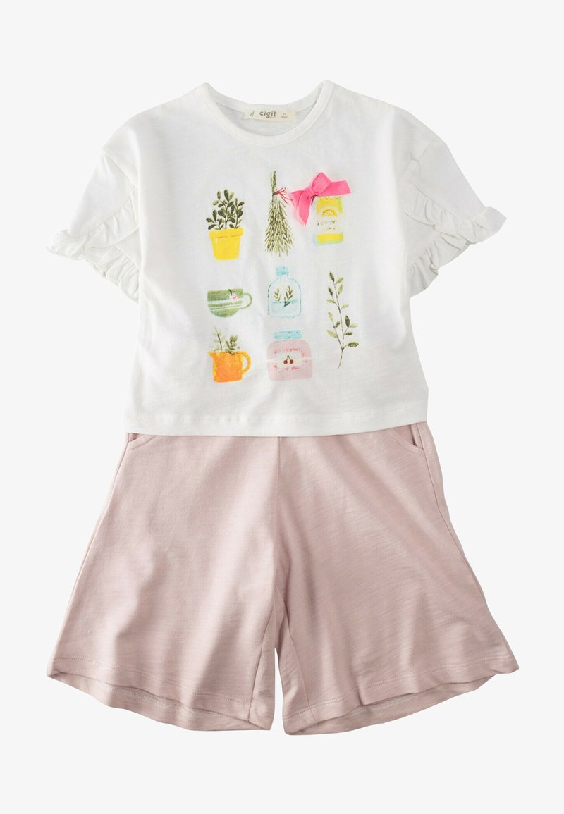 Cigit - SET - Shorts - light pink