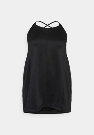 DRESS - Vardagsklänning - black/smoke grey