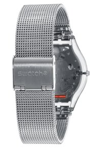 Swatch - METAL KNIT - Zegarek - grey - 2