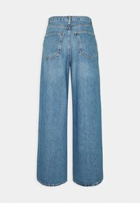 Topshop - WIDE LEG - Relaxed fit -farkut - mid blue - 1