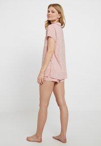 Even&Odd - SET - Pyjama set - white/rose - 2