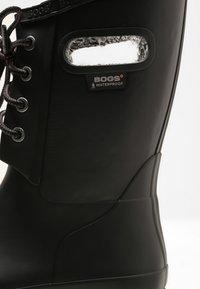 Bogs - AMANDA PLUSH - Regenlaarzen - black - 5