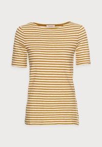Marc O'Polo - SHORT SLEEVE BOAT NECK - Print T-shirt - multi/sweet corn - 4