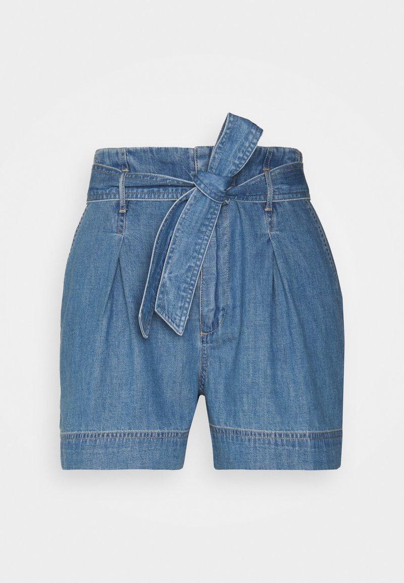 Lauren Ralph Lauren Petite - ZAVIERA - Denim shorts - indigo revival wash