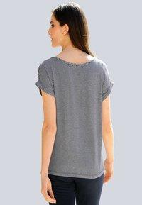 Alba Moda - Print T-shirt - marineblau,orange - 2