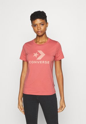 STAR CHEVRON LOGO TEE - Print T-shirt - terracotta pink