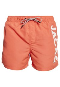 Jack & Jones - JJIARUBA - Swimming shorts - hot coral - 0