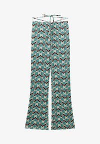PULL&BEAR - Trousers - turquoise - 5