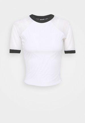 CONTRAST  - Camiseta estampada - white