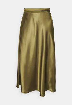 VMXARA CALF SKIRT - A-line skirt - dark olive
