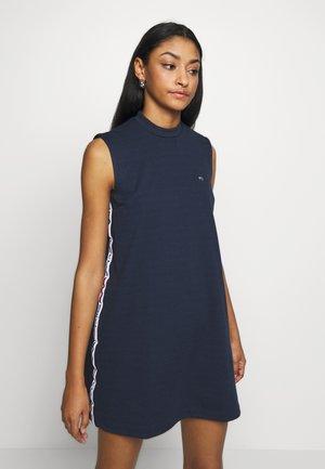 TAPE DETAIL A LINE DRESS - Jersey dress - twilight navy