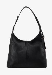 Zign - LEATHER - Handtasche - black - 5