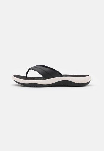 SUNMAZE SURF - T-bar sandals - black