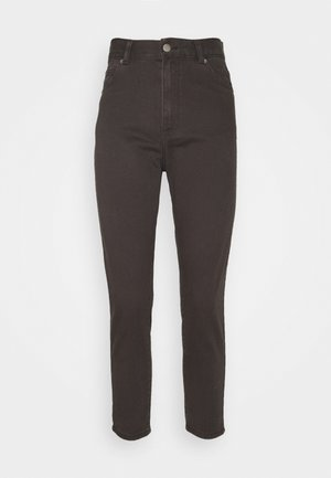NORA PETITE - Relaxed fit jeans - graphite