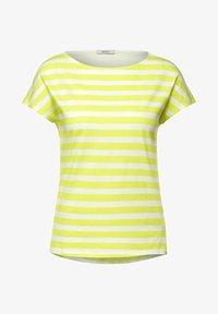 Cecil - Print T-shirt - gelb - 3