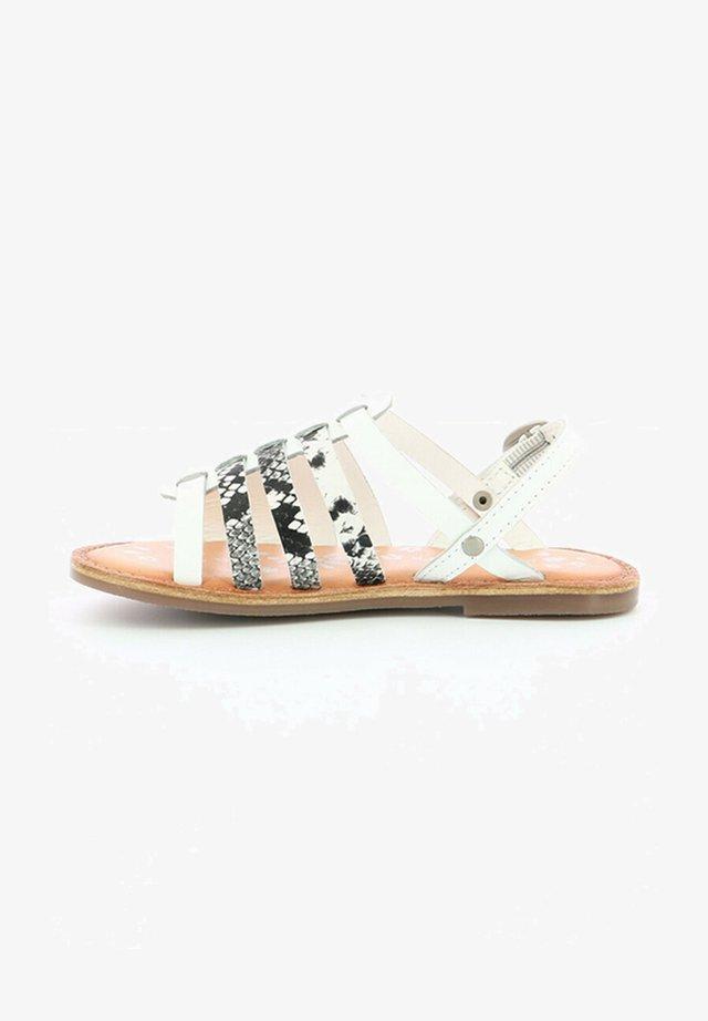 CUIR DIXON - Sandales - blanc