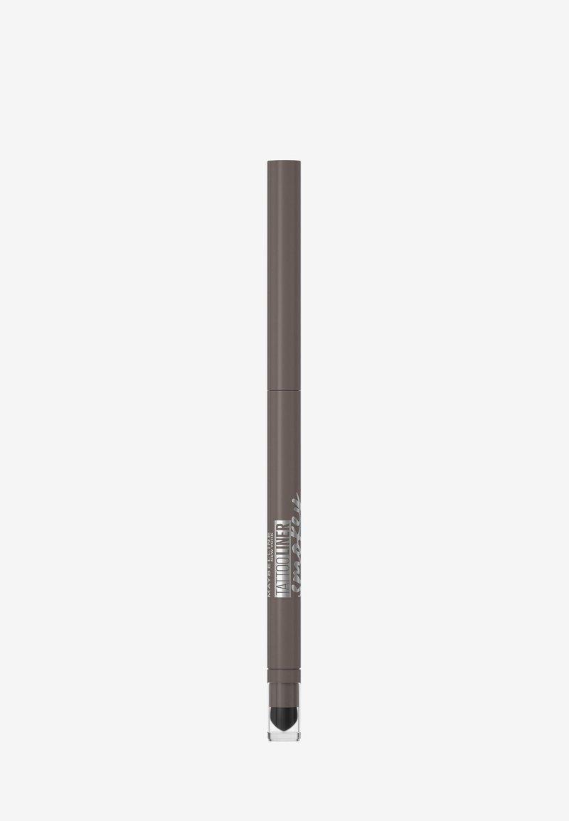 Maybelline New York - TATTOO LINER SMOKEY GEL PENCIL - Eyeliner - grey
