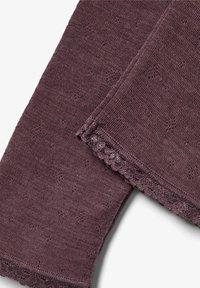 Name it - MERINOWOLL - Leggings - Trousers - flint - 2