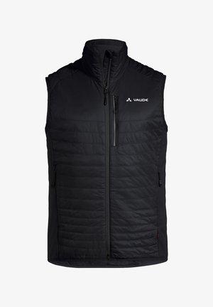 SESVENNA - Waistcoat - black