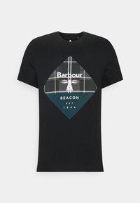 Barbour Beacon - BECKER TEE - T-shirt med print - black - 0