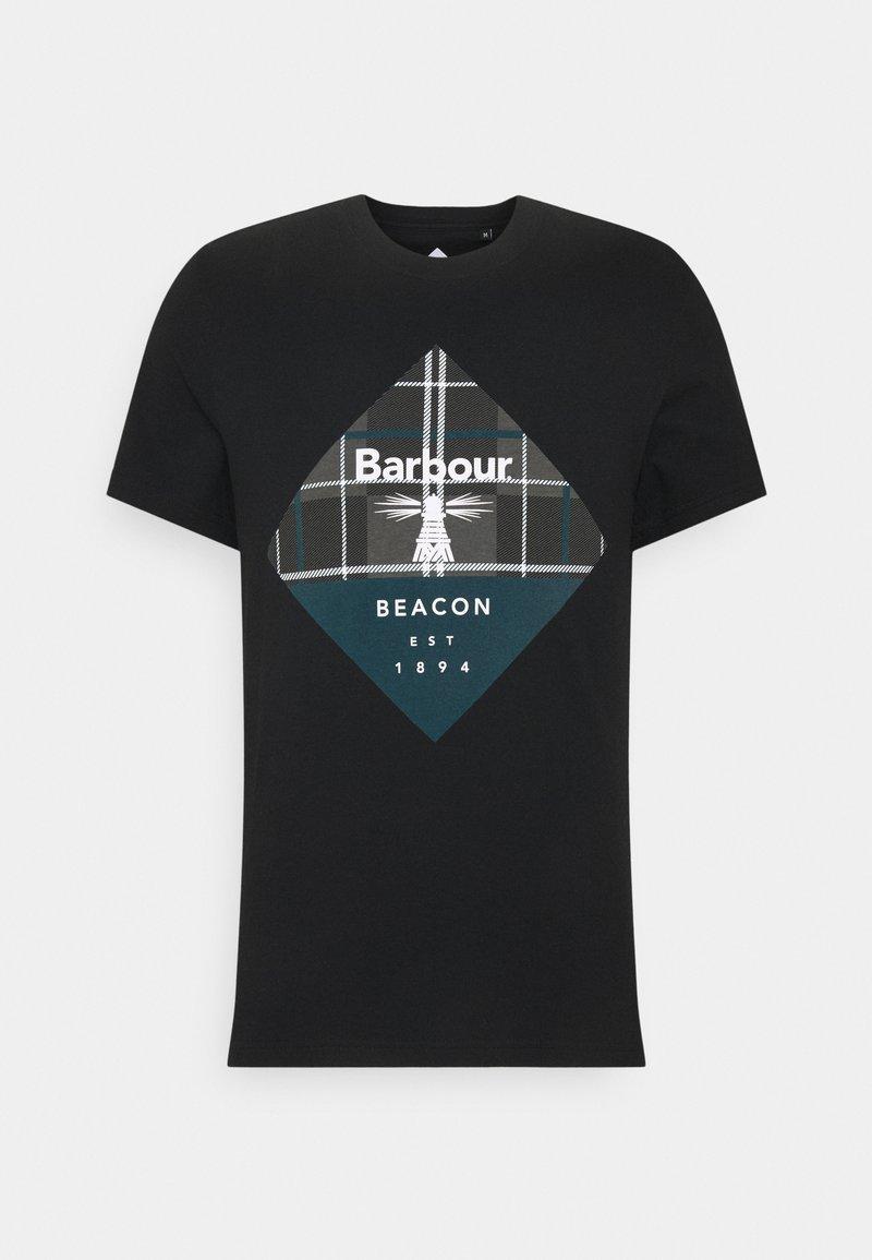 Barbour Beacon - BECKER TEE - T-shirt med print - black