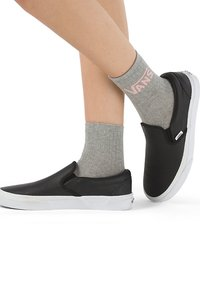 Vans - WM CLASSIC ANKLE SOCK (6.5-10, 1PK) - Socks - grey heather - 0